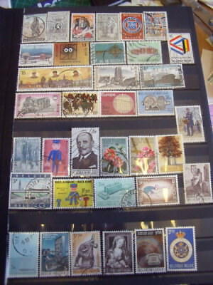 Belgium Stamps Lot 11 X 143 Used Stamps - All Scanned Below The Written Descript
