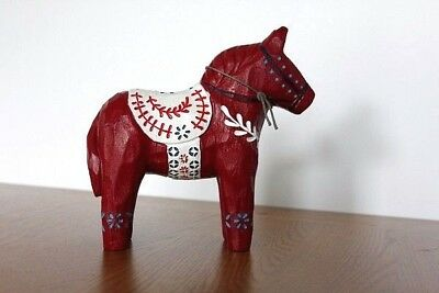 Horse Next Decoration New Gift Xmas Home Wooden Statuette 180 mm High Sculpture