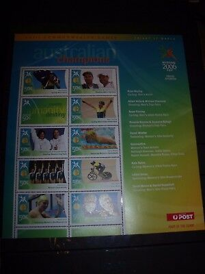 Australia Stamp Sheet Lot 2 2006 Commonwealth Stamp Sheet No 3 Mnh All Scanned B