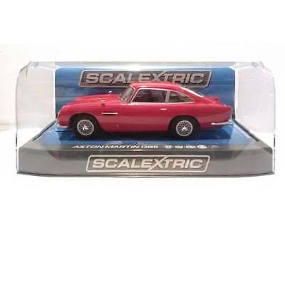 Scalextric C3722 Aston Martin DB5 Red 1965 with working Lights