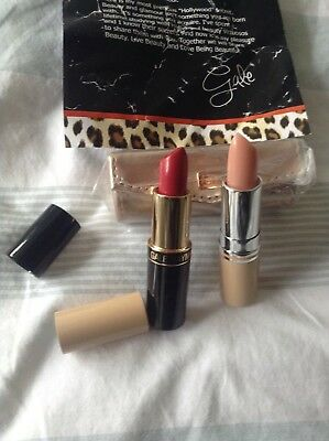 Gale Hayman Lip Lift And LA Red Lipstick With Case Brand New