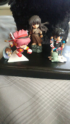 CLAMP in 3-D Land Anime figure lot RG Veda Angelic Layer Akira