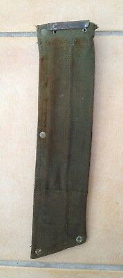 British army WWII 1944 or 58 pattern webbing machete scabbard