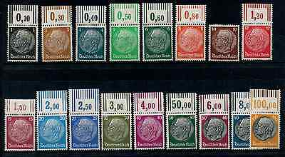 Timbres Allemagne 1932/33 Neuf* Cote 265€