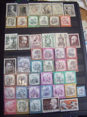 Austria Stamps Lot 81 X 153 Used Stamps - All Scanned Below The Written Descript