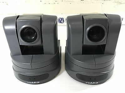 Lot of 2 - VADDIO 998-6990-000  ClearVIEW HD-USB PTZ Camera *30 day warranty*