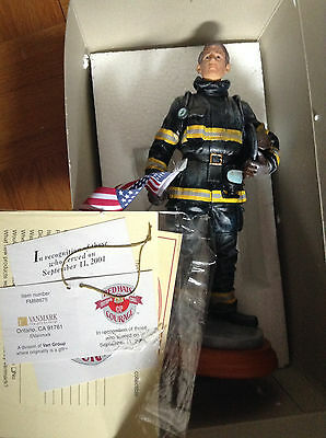 Vanmark's Red Hats of Courage Collection #88675 9-11 Commemorative firefighters