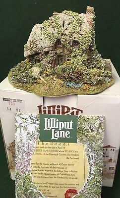 Lilliput Lane House - Forget Me Not
