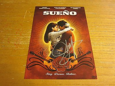 John Leguizamo Actor Autographed Signed 5X7.25 DVD Insert Page Sueno