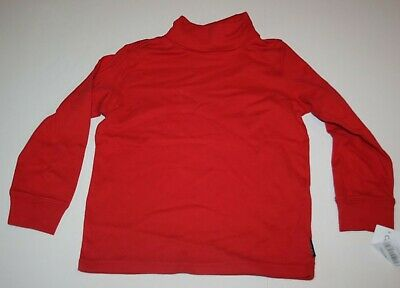 New Carter's Red Turtleneck Top 2T 3T 4t 5T 6 7 8 Boys Long Sleeve Shirt