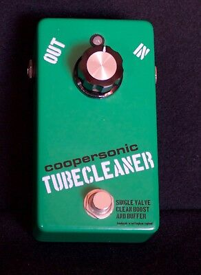 Coopersonic Tubecleaner Tube (Valve) line driver with up to 22dB of clean boost