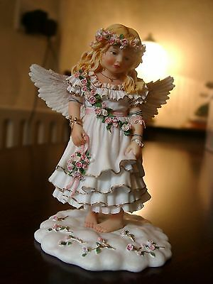 "Christine Haworth Limited Edition.""ANGEL OF THE INNOCENT HEART"" EX. COND. RARE"