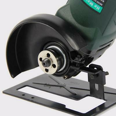 Angle Grinder Cutting Machine Conversion Tool Holder Metal Safety Shield Cover