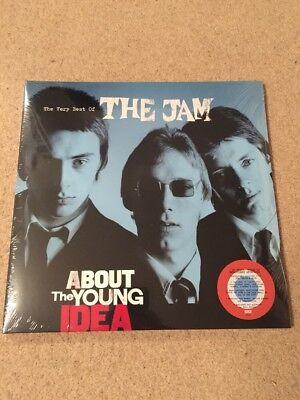 The Jam - About The Young Idea (RED/WHITE/BLUE) Limited Vinyl Lp Record, New
