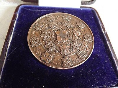 "LONDON ""CITY and GUILDS"" TECHNOLOGICAL EXAM MEDAL - 1912 - LADY."