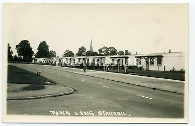 RP Social History STANWELL Town Lane PREFABS London MIDDLESEX  Rare!