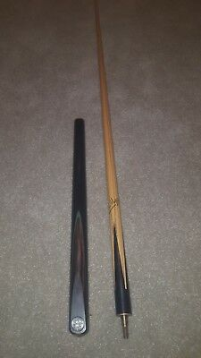 powerglide snooker cue and case with accessories