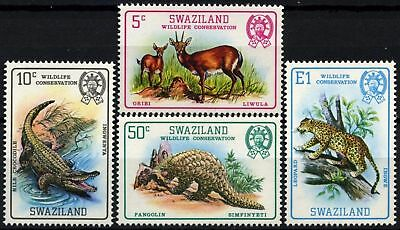 Swaziland 1980- SG#364-7 Wildlife Conservation MNH Set #D58691