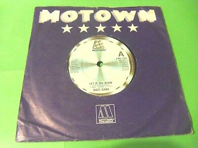 """Dazz Band - Let It All Blow  7""""  84  Vg-"""