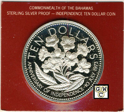 1976 Commonwealth of the Bahamas Islands Proof 10 Dollar Coin (OOAK)