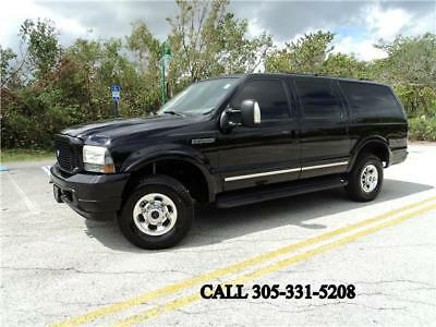 2004 Ford Excursion Limited 4X4 DIESEL CARFAX CERTIFIED SUPER SHARP 2004 Ford Excursion Limited 4X4 DIESEL CARFAX CERTIFIED SUPER SHARP