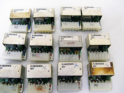 12)  GE MASTR EXEC II Channel Elements ICOMS UHF  6 Repeater Pairs