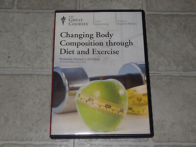 The Great Courses -Changing Body Composition Through Diet & Exercise 4 DVD Set