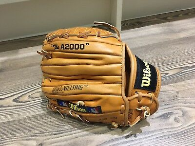 "Wilson Baseball Glove ""The A2000"" Right Hand Throw,Japan ACU,Dual-welting,L"
