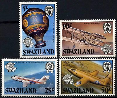 Swaziland 1983 SG#431-4 Manned Flight Bicentenary MNH Set #D58698