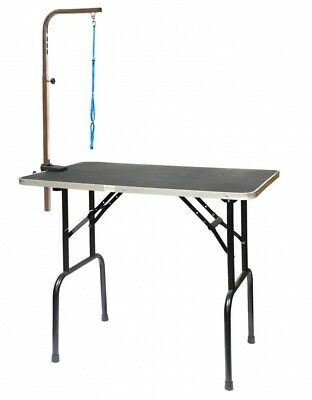 Go Pet Club GT-102 Pet Dog Grooming Table with Arm, 36-Inch BOX DAMAGE