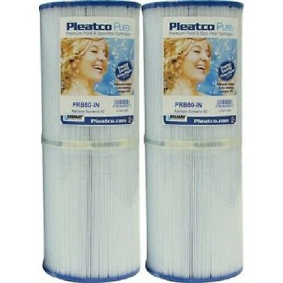 Brand New Pleatco Pure PRB50-IN Spa Filter 2/Pack