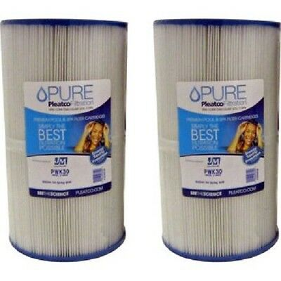 Brand New Pleatco Pure PWK30 Spa Filter 2/Pack