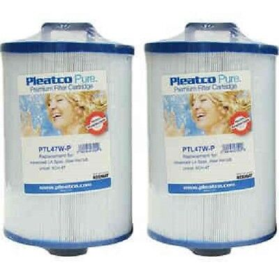 Brand New Pleatco Pure PTL47W-P Spa Filter 2/Pack