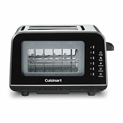 New Cuisinart ViewPro Glass 2-Slice Toaster