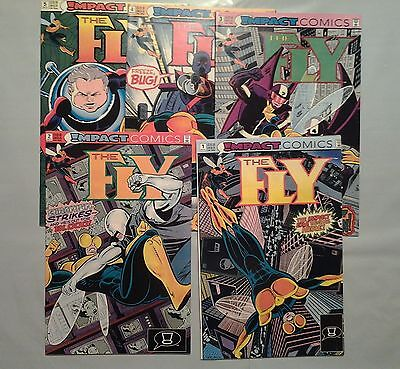 The Fly 1 2 3 4 5 6 8 9 10 12  (1991-2, Impact) 10 issue lot