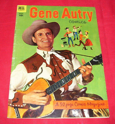 GENE AUTRY COMICS #73 (1953) Dell WESTERN VG- 3.5