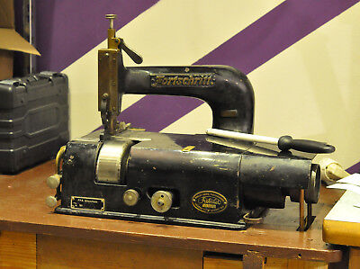 German leather skiving machine - bell knife