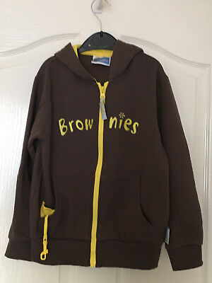 """Brownie Hooded Zip Jacket – Size 28""""/71cm Chest"""