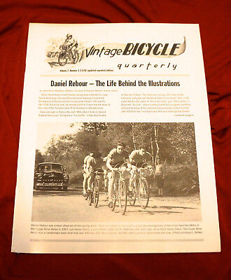 Vintage Bicycle Quarterly  Vol 2 #4 Daniel Rebour- The Life Behind his .....