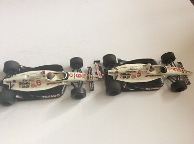 Lot Of 2 1993 Kmart Onyx 1/25 Scale Indy Cars Andretti, Mansell