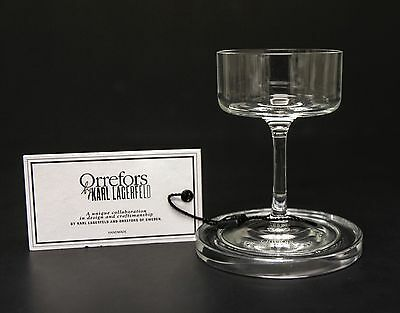 Orrefors By Karl Lagerfeld Liqueur Glass