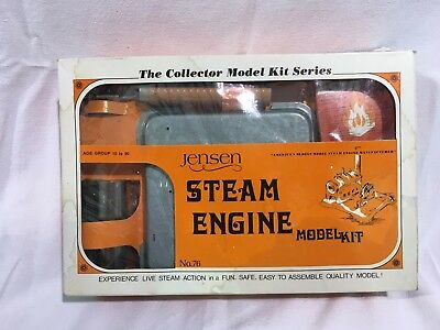 Jensen Steam Engine Model Kit #76,  Unused, Original packaging