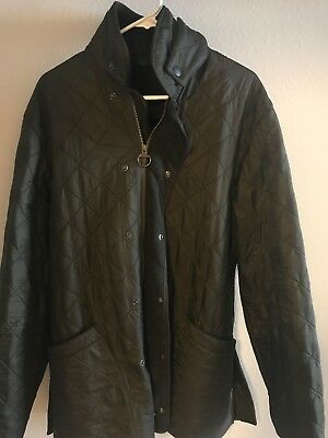 Men's Barbour Polarquilt Jacket Size L, Olive