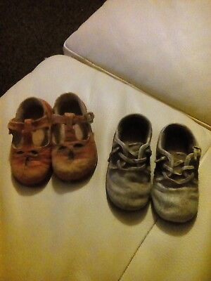 HIghly Collectible - 2 x Pairs of SHUDEHILL Child Sandal/Shoe Ornaments