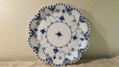 Royal Copenhagen #1062 Blue Fluted Full Lace round serving dish 1st quality