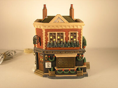 Dept 56 Dicken's Village, 'the Horse And Hounds Pub' #58340, Interior Lighting