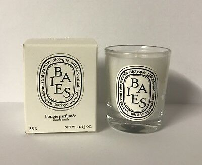 DIPTYQUE Baies Scented Candle 35g Mini Travel Size NEW IN BOX