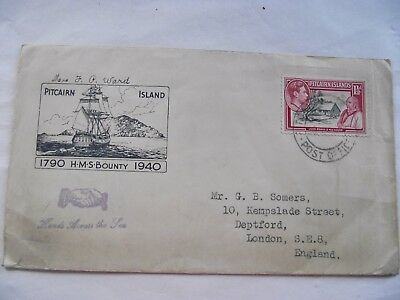 Pitcairn Island  1940 Cover Hands Across The sea