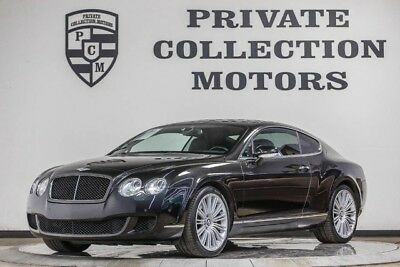 2008 Bentley Continental GT GT Speed Coupe 2-Door 2008 Bentley GT Speed Low Miles Well Kept Clean Carfax