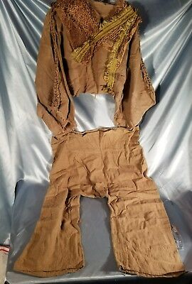 Civilian ape costume from planet of the Apes 2001 original movie prop with coa